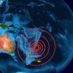 Activan alerta de tsunami por potente sismo en Nueva Zelanda.