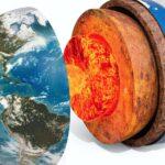Se descubren estructuras no conocidas en el centro de la Tierra.
