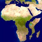 El Continente Africano se está partiendo en dos.