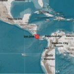 Sismo con magnitud 5.9 golpea Centro América.