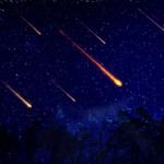 Lluvia de estrellas podrá verse durante tres días.