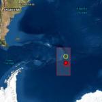 Terremoto magnitud 6.5 sacude las Islas Sándwich, ubicadas al sur de las costas de Chile.