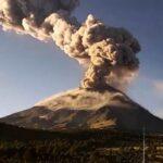 Entra en actividad el Volcán Popocatépetl en México.