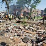 Explosión en Baltimore con lamentables consecuencias.