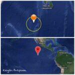 Sismo de 6.2 detectado en el archipiélago de Chagos, sin alerta de tsunami.