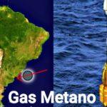 Fuga de gas metano en costas de Sudamérica, por efecto invernadero.