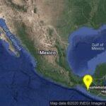 Se presentan al mismo tiempo dos sismos de interplaca: de 5.5 en México y de 5.4 en Chile.