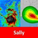"""Se forma ciclón en el Atlántico: """"Sally"""" tocará tierra entre Luisiana y Misisipi."""