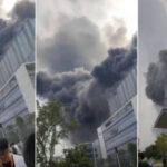 Incendio en laboratorios de Huawei en China, se desconoce la causa.