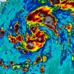 Se forma tormenta tropical Gamma y amenaza a los estados que conforman la Península de Yucatán.