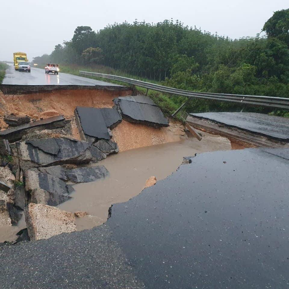 Tabasco amanece inundado