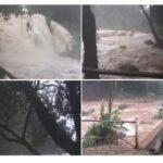 Cascadas de Agua Azul, maravilla natural de Chiapas, se DESBORDA por intensas lluvias.