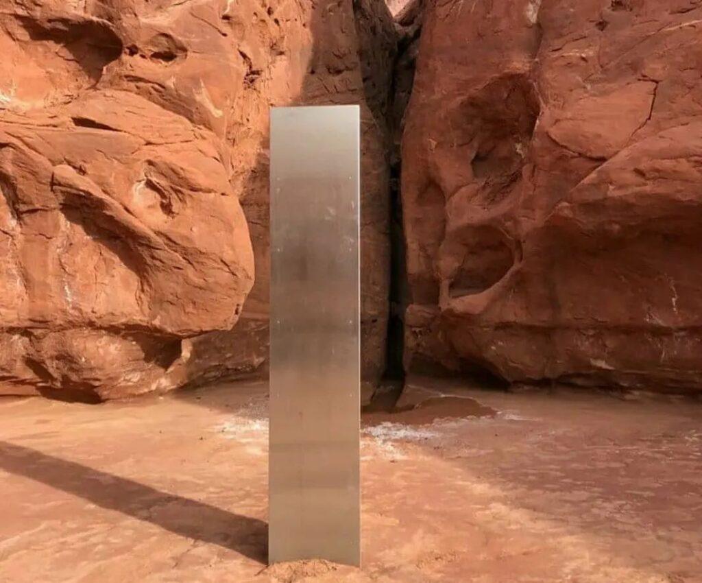 Desapareció el misterioso monolito de Utah en los Estados Unidos.