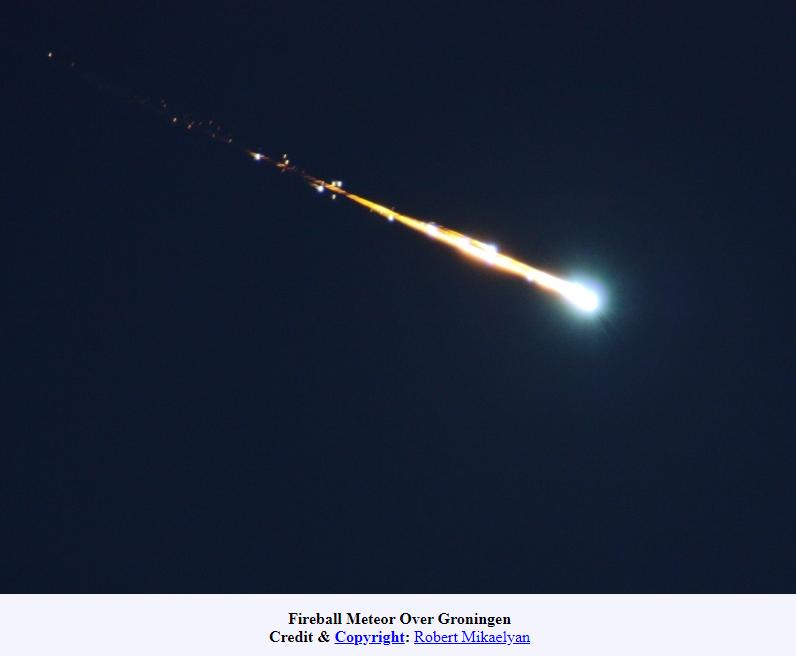 3 meteoritos