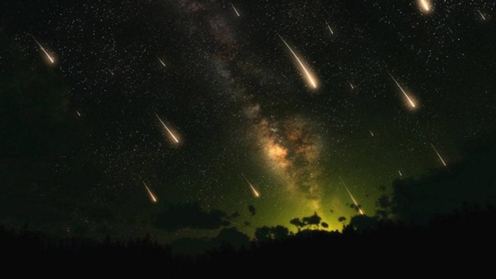 lluvia de estrellas úrsidas