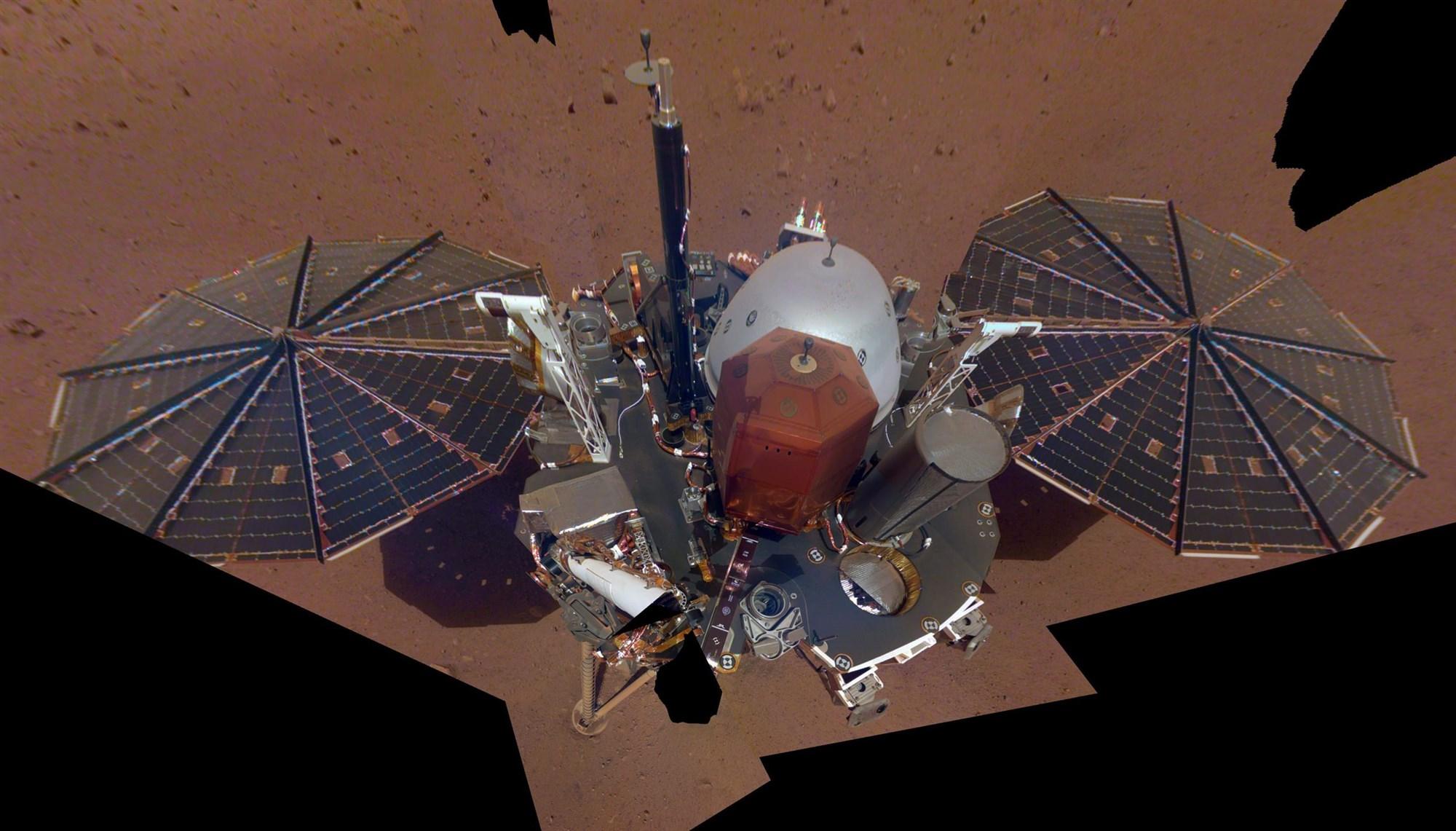 Sonda excavadora en Marte ha sido abandonada.