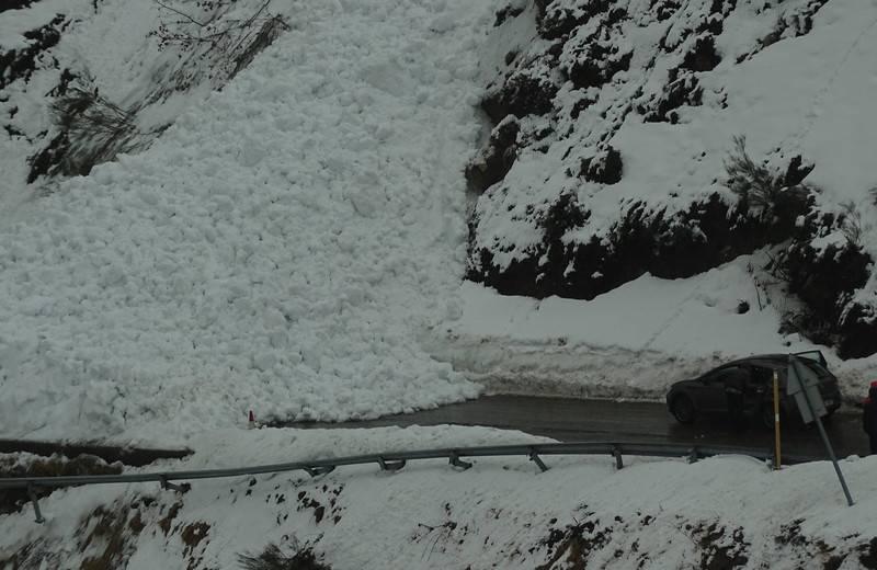 alud de nieve