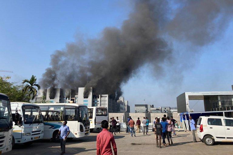 incendio en laboratorios