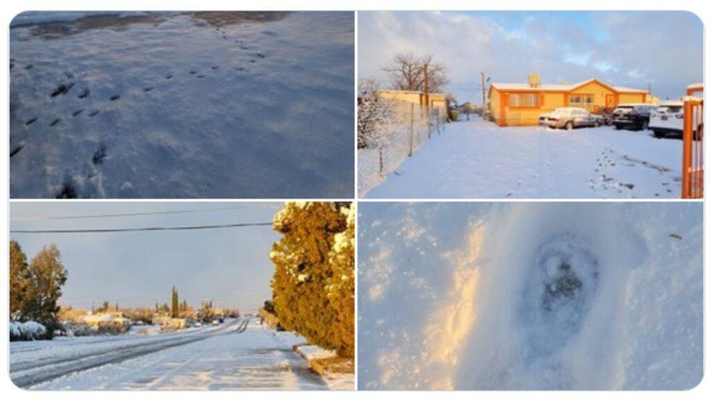 espectacular nevada