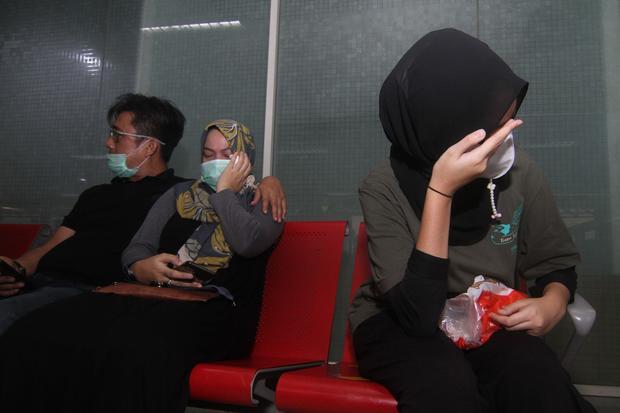 Avión desaparecido con 62 pasajeros en Yakarta, Indonesia.