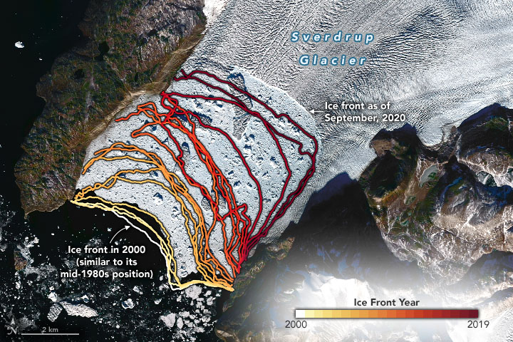 glaciares de groenlandia
