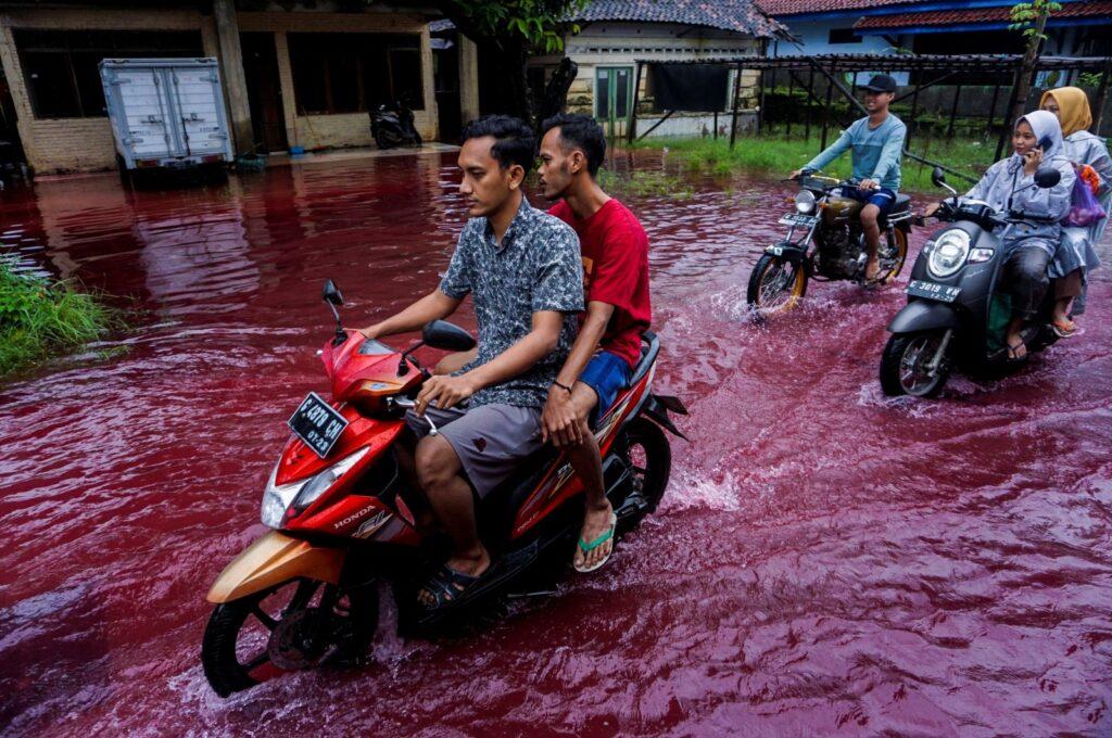río color sangre
