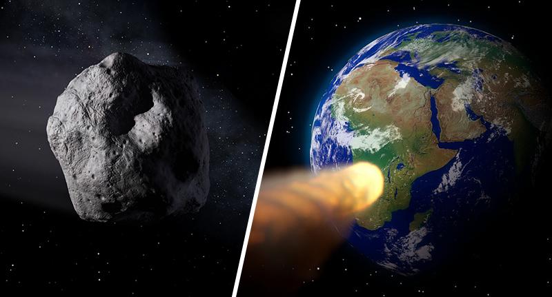 asteroide del caos