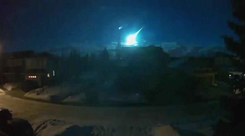 video un meteorito