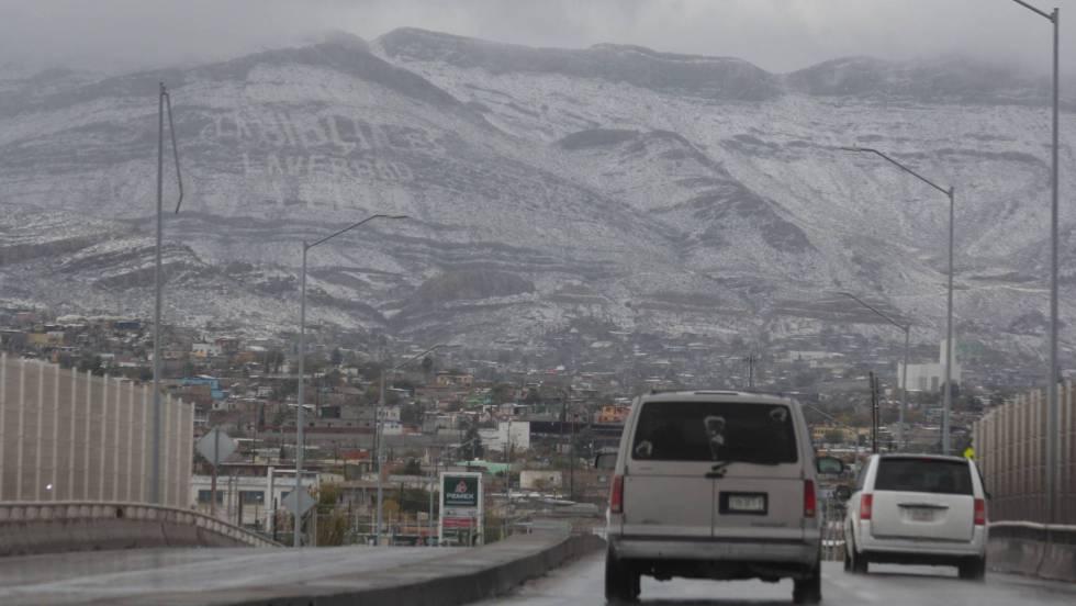 Frente Frío se avecina y provocará nevadas en el norte de México.