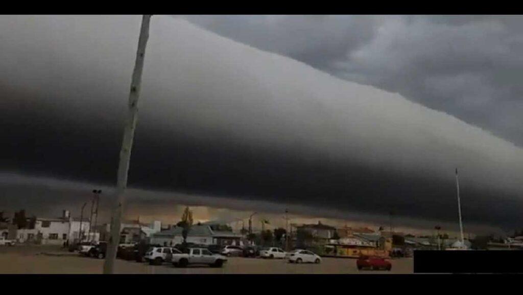 nube con forma de tubo