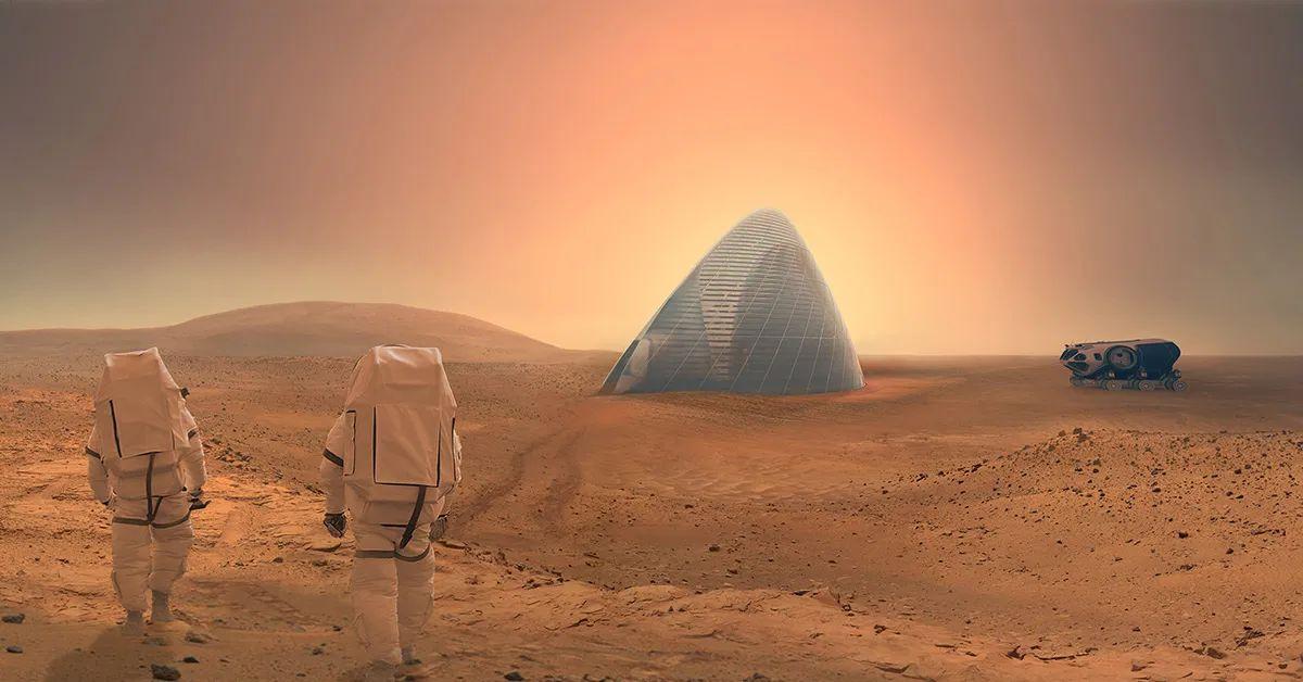 Marte: se ha hallado posiblemente un nuevo tipo de glaciares.