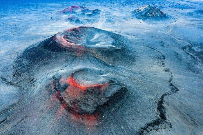 dunas y volcanes
