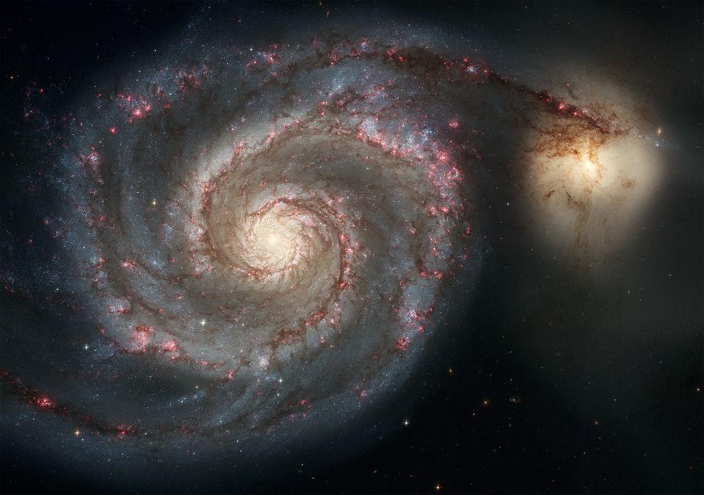 Telescopio Hubble capta señales de galaxias lejanas.
